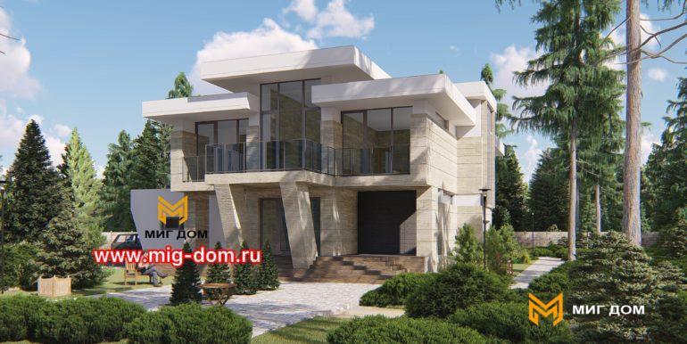 Дом в стиле Хай Тек