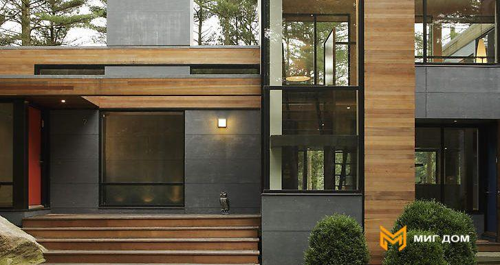 House-with-fresh-nature-entrance