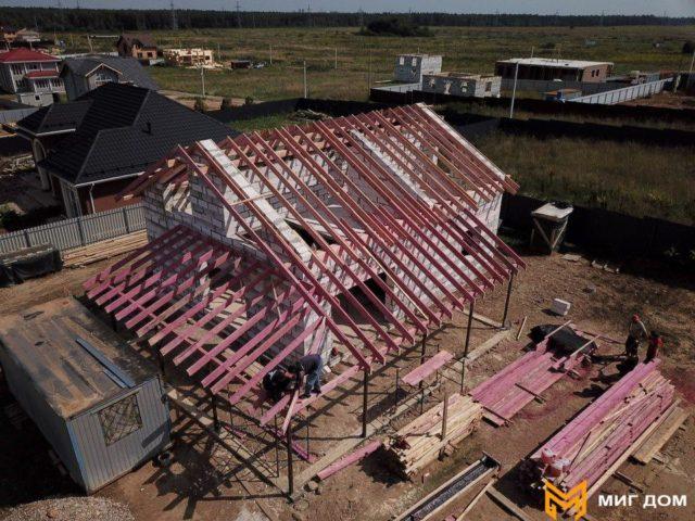 загородный дом строительство
